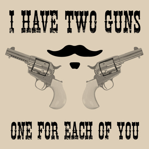 Two Guns Doc Holliday Shirt