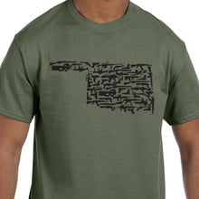 Load image into Gallery viewer, Oklahoma Gun State Shirts