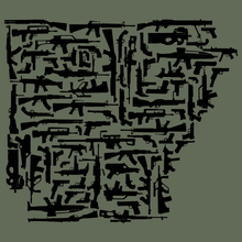 Load image into Gallery viewer, Arkansas Gun State Shirts