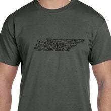 Load image into Gallery viewer, Tennessee Gun State Shirt Military Weapon
