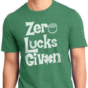 Funny St. Patrick's Day Holiday shirt lucks pot of gold