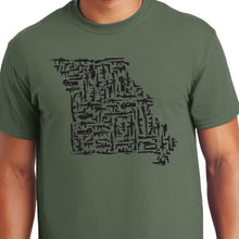 Load image into Gallery viewer, Missouri Gun State Shirt second amendment
