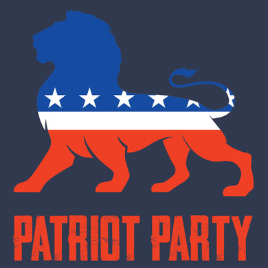 Patriot Party Shirt Lion