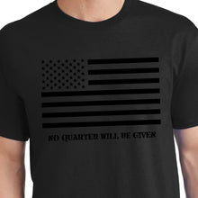 Load image into Gallery viewer, Black American Flag Shirt treason