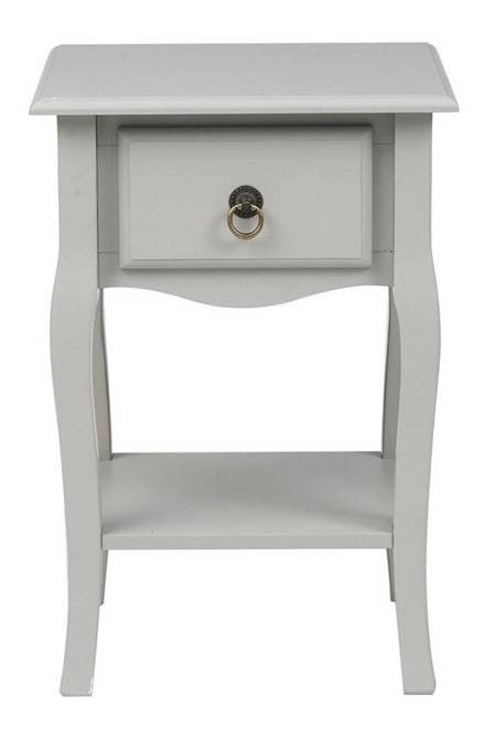 Antoinette Grey Side Table