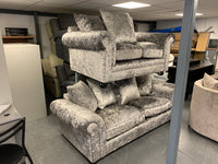Laurence Llewelyn-Bowen Scarpa 3 Seater + 2 Seater Fabric Scatter Back Sofa Set