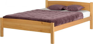 Amber Wooden Bed