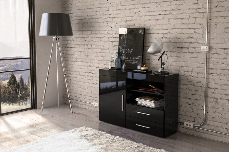 Edgeware 1 Door 2 Drawer Sideboard