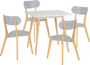 Julian Dining Set - 4 Chairs
