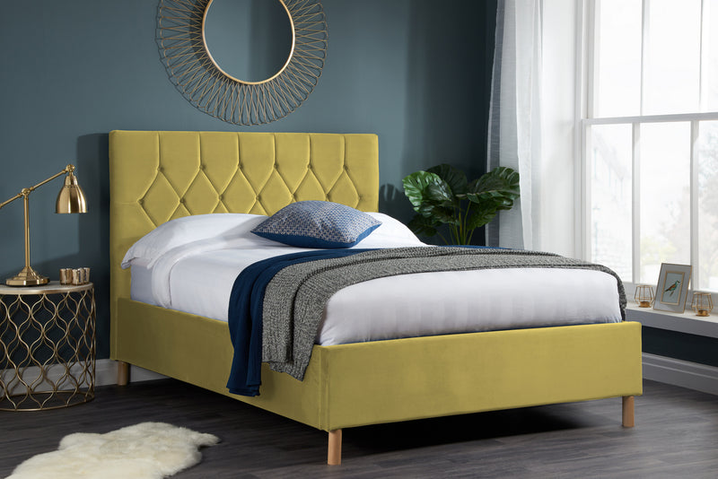 Loxley Fabric Bed
