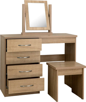 Nevada 4 Drawer Dressing Table Set
