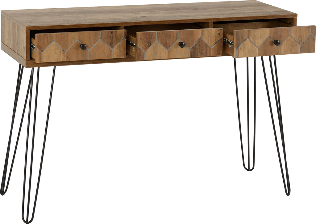 Ottawa 3 Drawer Console Table