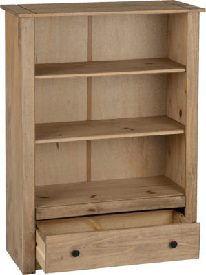 Panama 1 Drawer Bookcase