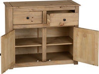 Panama 2 Door 2 Drawer Sideboard