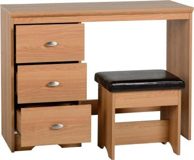 Regent 3 Drawer Dressing Table Set