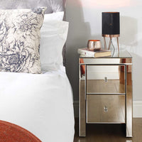Seville 2 Drawer Bedside