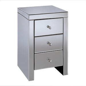 Seville 3 Drawer Bedside