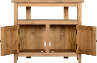 Salvador Tile Top Corner TV Unit