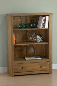 Santiago 1 Drawer Bookcase