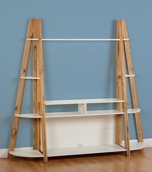 Santos 4 Shelf Corner Unit