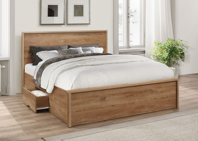 Stockwell Bed - Rustic Oak Effect