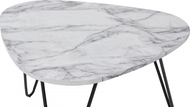 Trieste Coffee Table Marble Effect