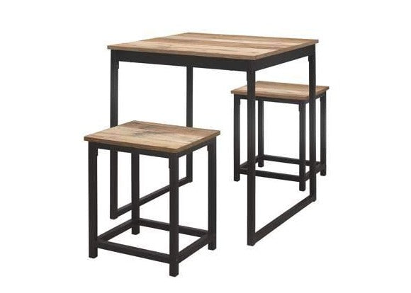 Urban Compact Dining Table And Stool Set