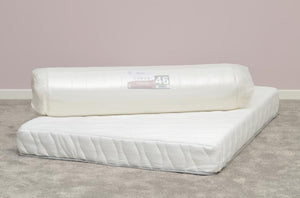 Venus Memory Cool Rolled Mattress - White Fabric