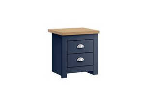 Winchester 2 Drawer Bedside