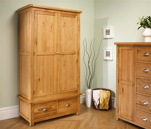 Woburn 2 Door 2 Drawer Wardrobe