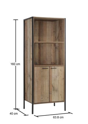 Stretton 2 Door Bookcase