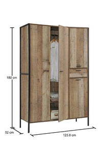 Stretton 4 Door Wardrobe