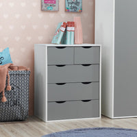 Alton 3 Piece Bedroom Set - 3+2 Drawer
