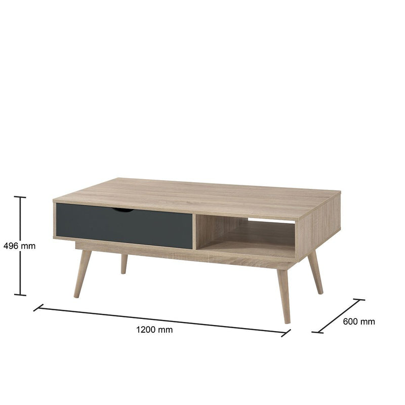 Alford 1 Drawer Coffee Table