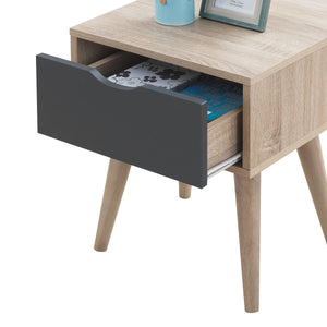 Alford 1 Drawer Lamp Table