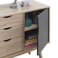Alford 2 Door 3 Drawer Sideboard