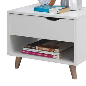 Pulford 1 Drawer Nightstand