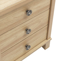 Sherwell 3 Drawer Nightstand