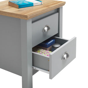 Eaton 2 Drawer Nightstand