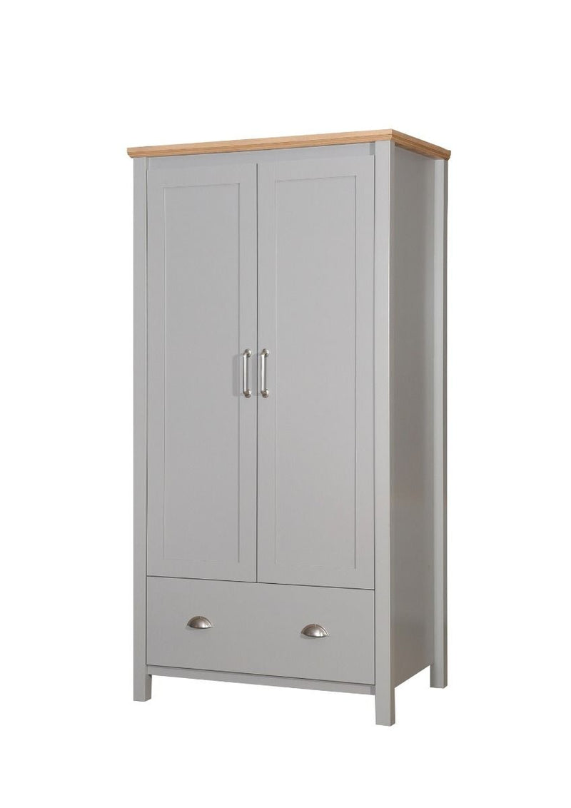 Eaton 2 Door 1 Drawer Wardrobe