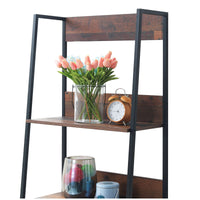 Abbey 4 Tier Narrow Bookcase