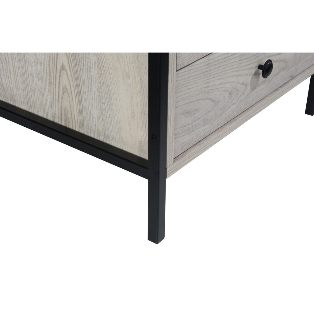 Zahra 3 Drawer Nightstand