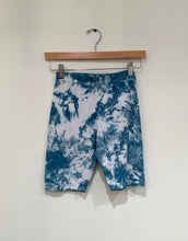 Load image into Gallery viewer, Shibori Indigo Dyed Biker Short