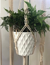 Load image into Gallery viewer, Large Macrame Plant Holder