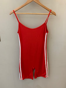 Side Stripe Cami Romper