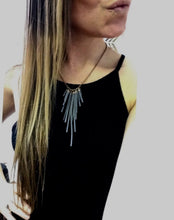 Load image into Gallery viewer, Fringe Suede Necklace