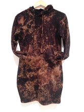 Load image into Gallery viewer, Acid Washed Sweatshirt Dress