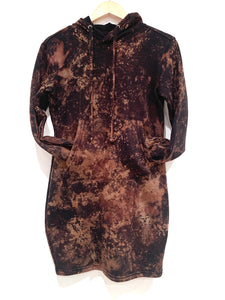 Acid Washed Sweatshirt Dress