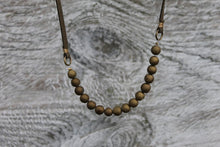 Load image into Gallery viewer, Agate Druzy and Suede Necklace