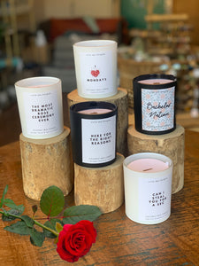 The Bachelor Themed Candles